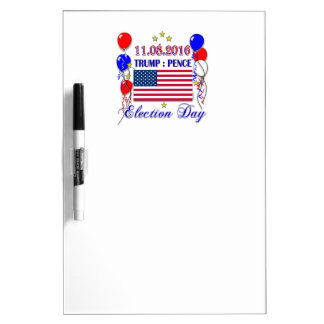 Trump Pence Election 2016 Dry-Erase Whiteboards