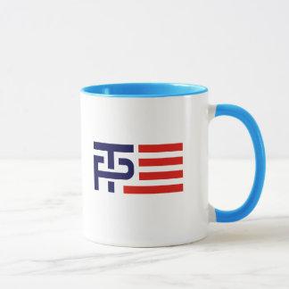 Trump Pence Flag Banner - Mug