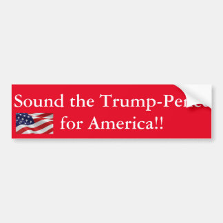 Trump-Pence for America Bumper Sticker