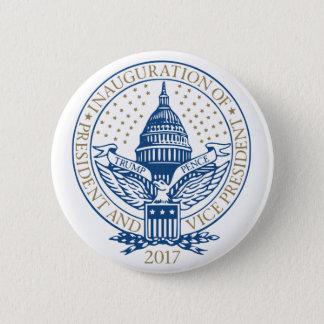 Trump Pence President Inaugural Logo Inauguration 6 Cm Round Badge