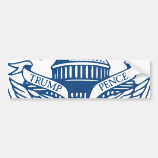 Trump Pence President Inaugural Logo Inauguration Bumper Sticker
