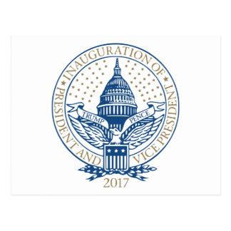 Trump Pence President Inaugural Logo Inauguration Postcard