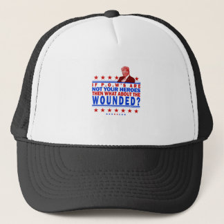 Trump POW Deplorable Trucker Hat