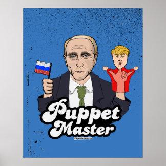 Trump Puppet Master - Vladimir Putin Poster
