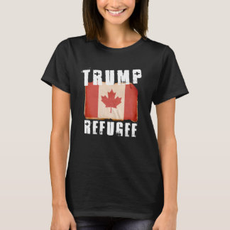Trump Refugee - American Refugee - -  - white -.pn T-Shirt