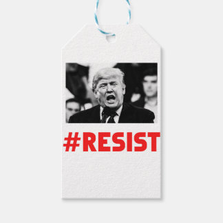 TRUMP RESIST GIFT TAGS