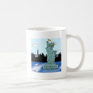 Trump's Statue of Liberty Coffee Mug