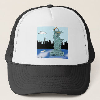 Trump's Statue of Liberty Trucker Hat