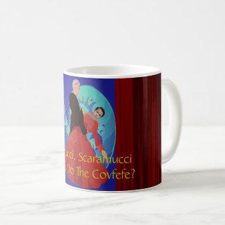 Trump & Scaramucci Can You Do The Covfefe? Mug