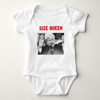 TRUMP SIZE QUEEN BABY BODYSUIT