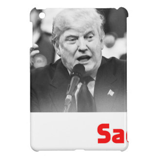TRUMP SIZE QUEEN - SAD iPad MINI CASE