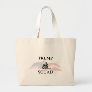 Trump Squad Large Tote Bag