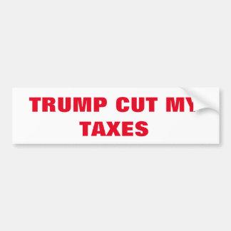 Trump Taxes Bumper Sticker