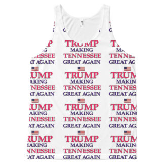 Trump Tennessee All-Over Print Singlet