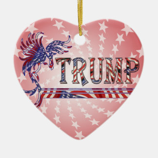 TRUMP - THE EAGLE RISES CERAMIC ORNAMENT