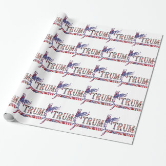 TRUMP - THE EAGLE RISES WRAPPING PAPER