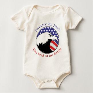 Trump: The End of an Error Baby Bodysuit