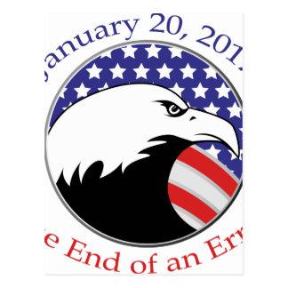 Trump: The End of an Error Postcard