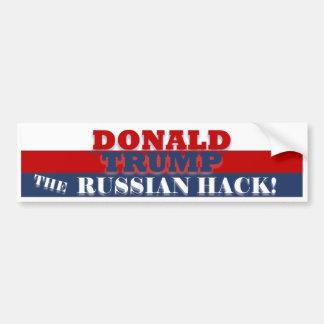 Trump the Russian Hack BumperSticker Bumper Sticker