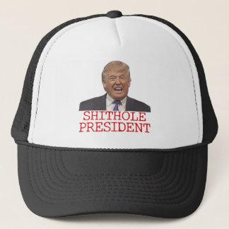 Trump, the Shithole President Trucker Hat
