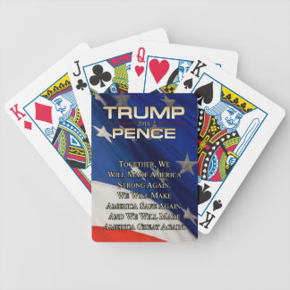 TRUMP TOGETHER WE WILL BICYCLE PLAYING CARDS