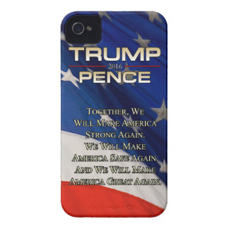 TRUMP TOGETHER WE WILL iPhone 4 Case-Mate CASE