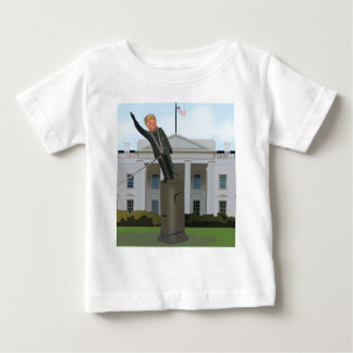 Trump Toppling Baby T-Shirt