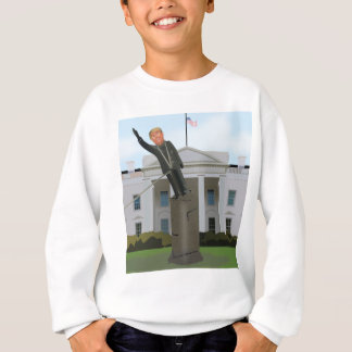 Trump Toppling Sweatshirt