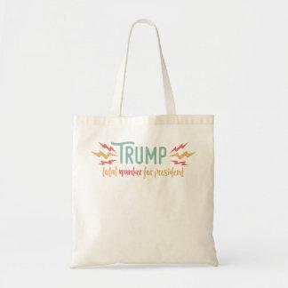 Trump Total Wanker Tote Bag