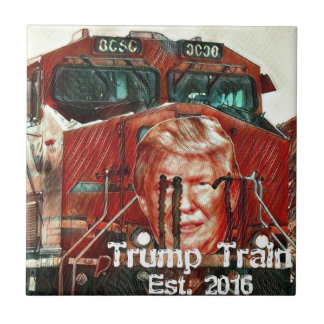 Trump Train...Est. 2016 Ceramic Tile