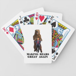 Trump Tribute Bicycle Playing Cards