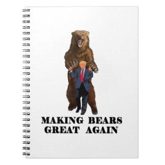 Trump Tribute Notebooks