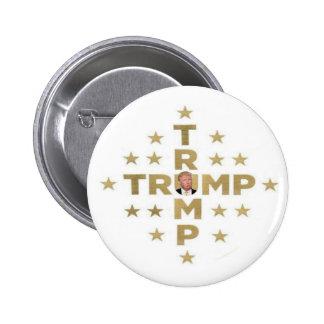 Trump Trump 6 Cm Round Badge