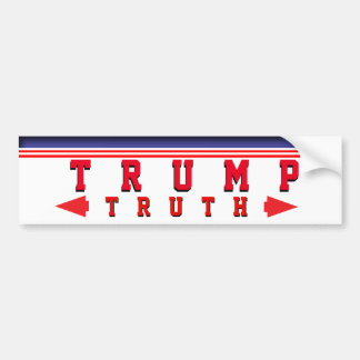 Trump truth bumper sticker