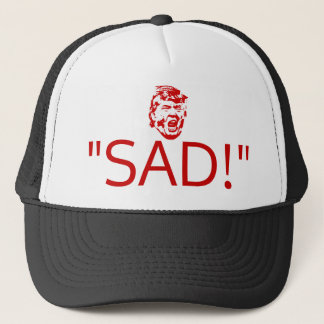 "Trump Tweets Hat ""SAD!"""