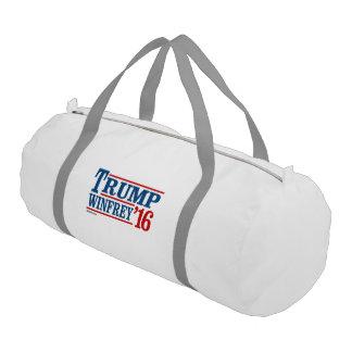 Trump Winfrey 2016 Gym Duffel Bag