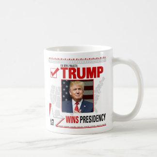 Trump Wins Presidency Coffee Mug
