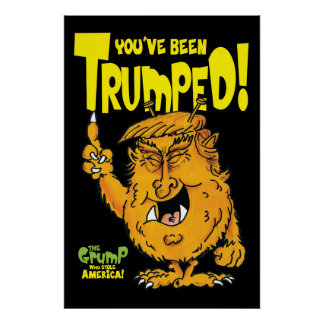 Trumped by Trump Poster
