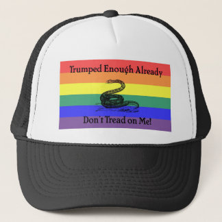 Trumped Enough Already Trucker Hat