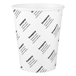 Trumpery Paper Cup