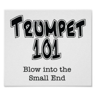Trumpet 101 poster