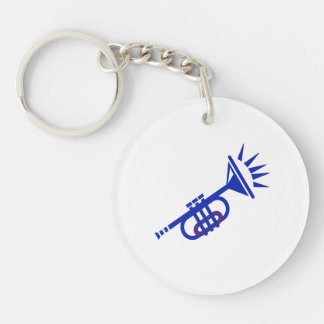 trumpet abstract with spikes blue.png key ring