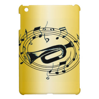 Trumpet and Musical Notes Cover For The iPad Mini