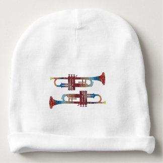 Trumpet Art Baby Beanie