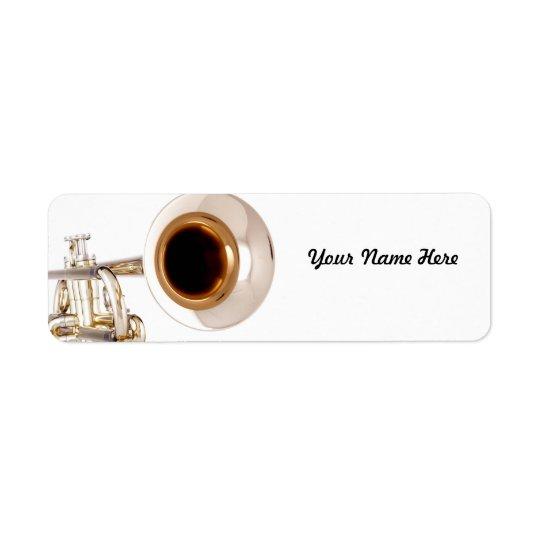 Trumpet Avery Label
