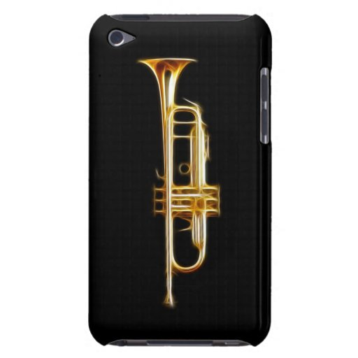 Trumpet Brass Horn Wind Musical Instrument Barely There iPod Cover