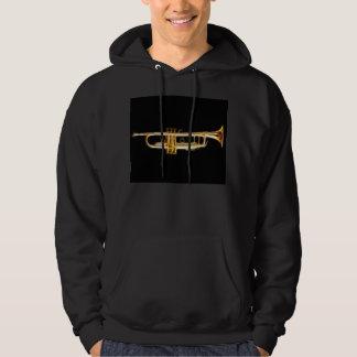 Trumpet Brass Horn Wind Musical Instrument Hoodie