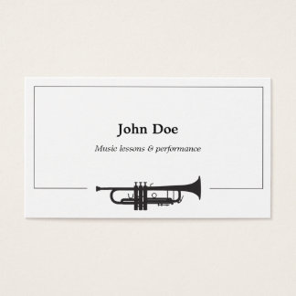 Trumpet Business Card