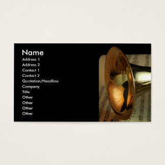 TRUMPET BUSINESS CARDS