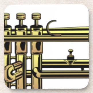 Trumpet Cartoon Coaster